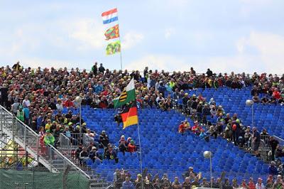 Penonton GP Jerman Sepi Karena Tiket Mahal