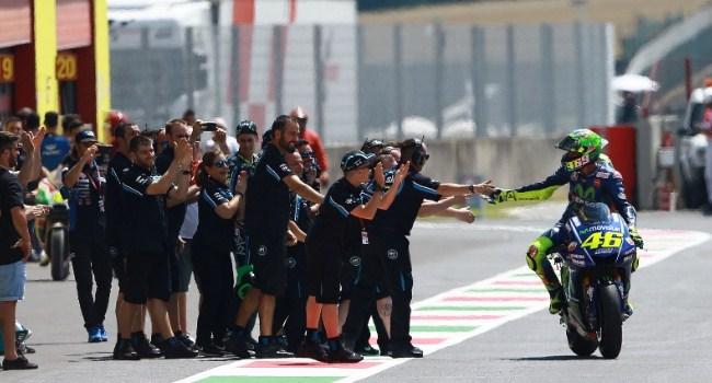 Rossi Ciptakan Jagoan untuk Honda