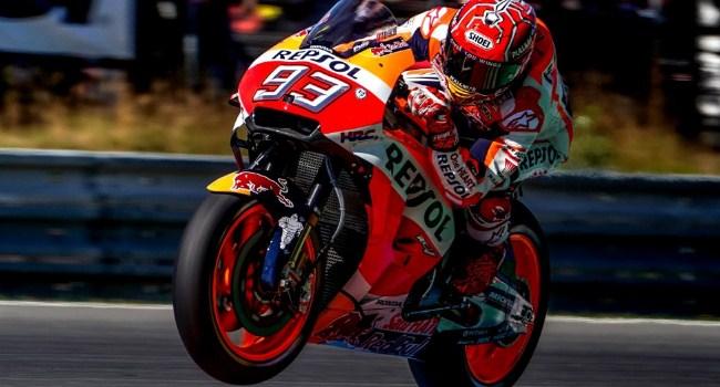 Marquez Raih Pole GP Ceko, Rossi Start Kedua