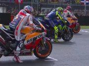 Marquez Menangi Balapan Kacau GP Ceko, Rossi Keempat