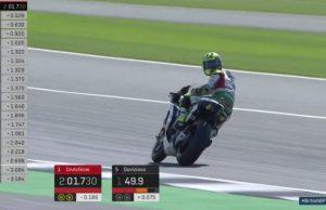 FP2 GP Inggris: Crutchlow Kalahkan Rossi, Marquez Kecelakaan