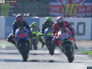 Dovi Menangi MotoGP Inggris, Motor Marquez Macet
