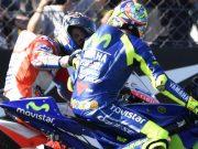 Dikalahkan Dovi dan Vinales, Rossi Mengaku Frustasi