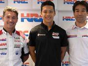Naik ke MotoGP, Nakagami Temani Crutchlow di LRC Honda