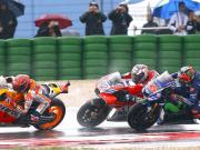 Bahaya Yamaha Saat Balapan Hujan