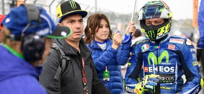 DNF GP Jepang, Rossi Dipastikan Gagal Juara Dunia