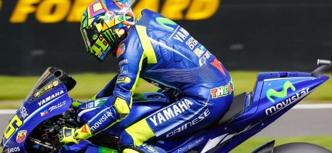 Tiga Balapan Beruntun Bakal Melelahkan Rossi
