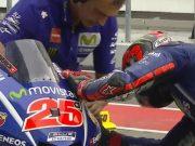 Vinales - Barbera Nayaris Tabrakan di FP2 GP Malaysia