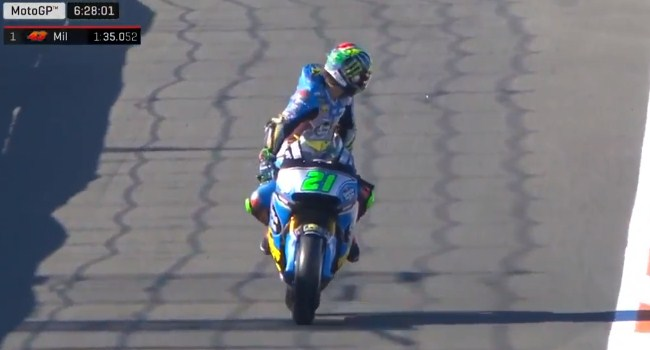 Video: Penampilan Perdana Morbidelli di MotoGP