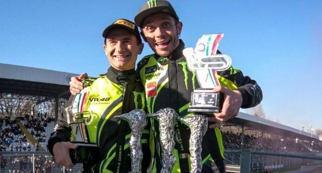 Rossi Juarai Monza Rally Show 2017