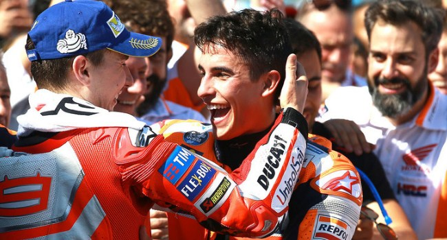 Lorenzo: Marquez Agresif, Tak Takut Jatuh