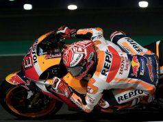 Pemanasan GP Qatar: Marquez Tercepat, Rossi ke-7