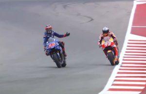 Marquez Berulah Lagi di Kualifikasi MotoGP Amerika