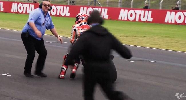 Rossi dan Marquez Dilarang Bertemu di MotoGP AS