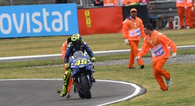 Rossi Tekad Akhiri Menang Beruntung Marquez di AS