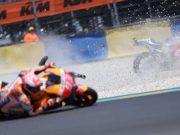 Marquez Menang di GP Prancis, Rossi Podium Tiga