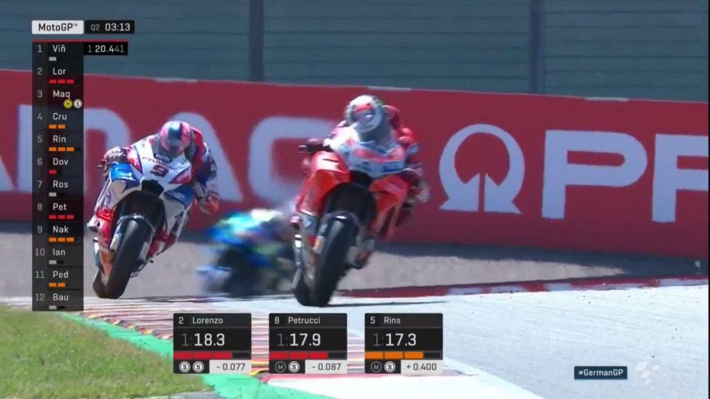 Hasil Lengkap Kualifikasi MotoGP Sachsenring, Jerman 2018