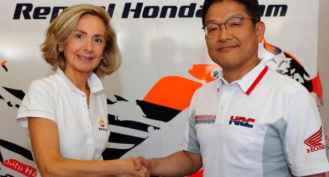 Resmi! Repsol dan Honda Perpanjang Kerja Sama Sampai 2020