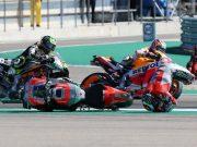 Marquez Bantah Jadi Penyebab Kecelakaan Lorenzo