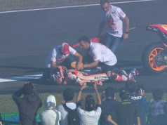 Marquez Alami Cedera Saat Selebarasi Juara Dunia
