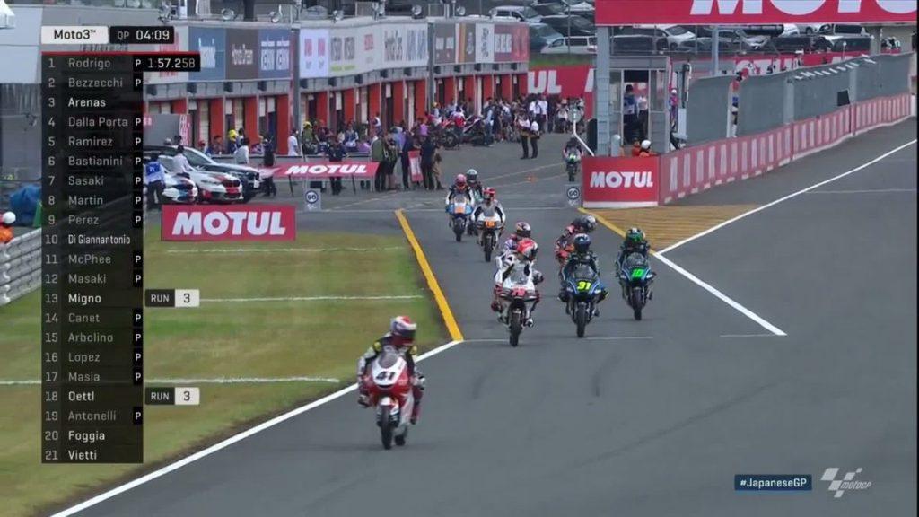 Hasil Lengkap Kualifikasi Moto3 Motegi, Jepang 2018