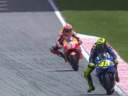Marquez: Saya Tetap Menang Meski Rossi Tak Jatuh