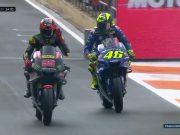 Masuk Q1, Rossi Start ke-16 di MotoGP Valencia