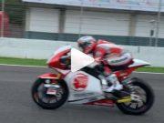 Gaharnya Dimas Ekky di Atas Motor Moto2