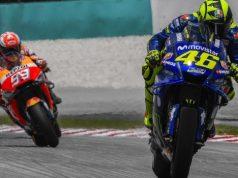 Marquez Heran dengan Kecepatan Yamaha di Sepang