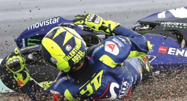 Ada 1000 Lebih Kecelakaan di MotoGP 2018