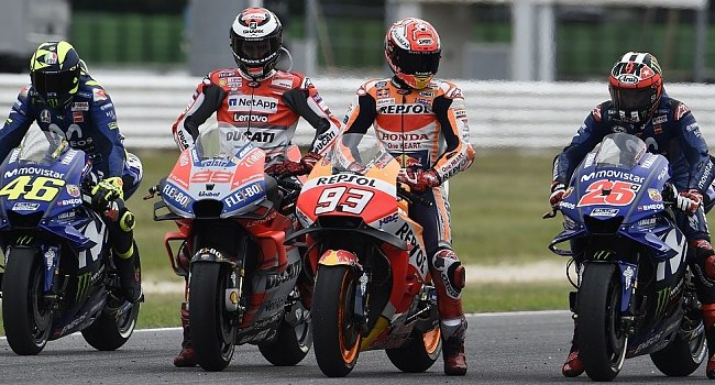 MotoGP 2019: 22 Pembalap dari Sembilan Negara