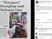 Marquez KW Ditangkap Polisi Saat Balapan Liar