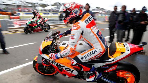Ini Kerugian Marquez Akibat Kedatangan Lorenzo