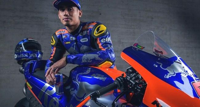 Ini Komentar Syahrin Soal Livery Motor Red Bull KTM Tech3