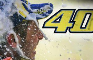 Valentino Rossi Ulang Tahun, Twitter Ramai #Rossi40
