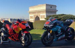 MotoGP 2019: KTM-Yamaha 'Pacaran' di Paris