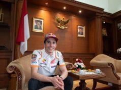 Ulang Tahun, Repsol Honda Pamer Foto Marquez dengan Bendera Indonesia