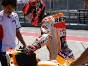 Hari Kedua Tes Sepang: Marquez Lembek Karena Cedera Bahu