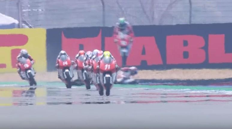 Afridza Kembali Naik Podium di Race 2 ATC Thailand 2019