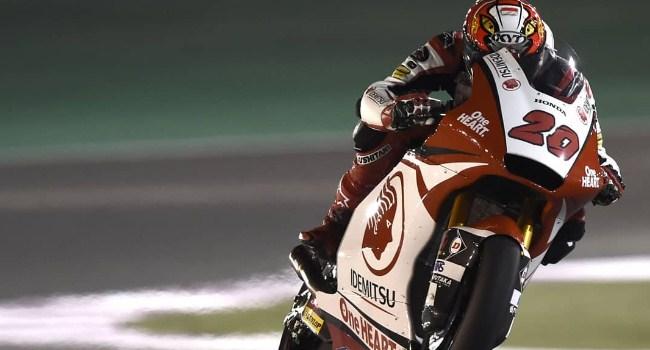 Race Moto2 Qatar: Dimas Ekky Kalahkan 8 Pembalap