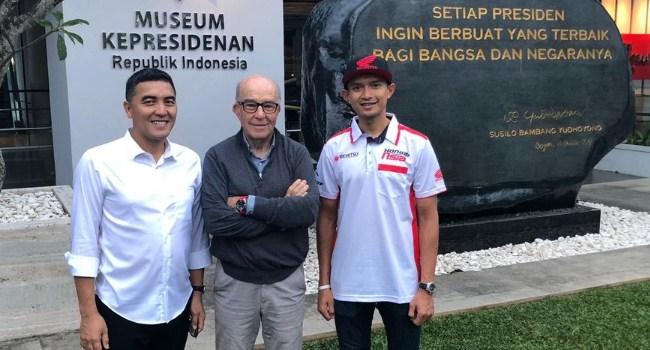 Dimas Ekky Tak Sabar Tampil di MotoGP Lombok 2021