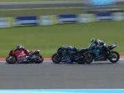 MotoGP Argentina: Insiden Vinales vs Morbidelli, Salah Siapa?