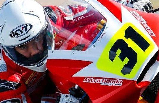 Gerry Salim, Penerus Dimas Ekky di CEV Repsol Moto2