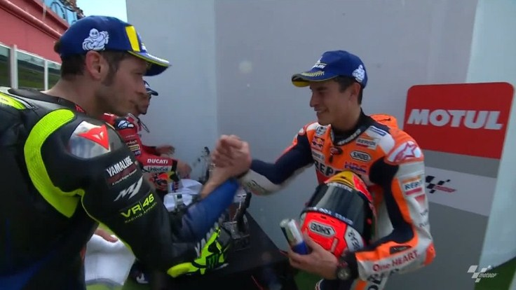 Jabat Tangan Argentina Hanya Jebakan Rossi untuk Marquez