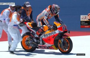 Live MotoGP Amerika: Marquez Jatuh, Rossi Terdepan