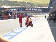 MotoGP Spanyo: Lorenzo Bawa Honda Masuk Paddock Ducati