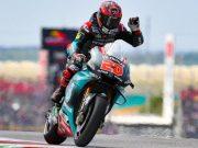 MotoGP Spanyol: Raih Pole, Quartararo Rampas Rekor Marquez