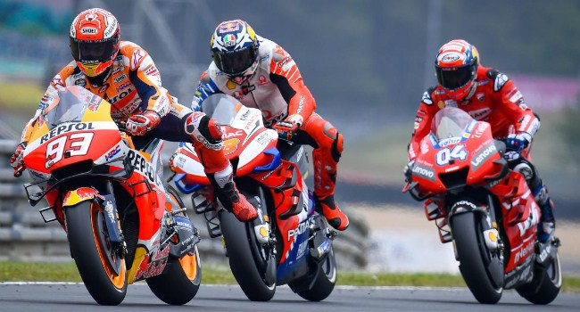 MotoGP Prancis: Dovi Tak Mampu Kejar Marquez di Le Mans