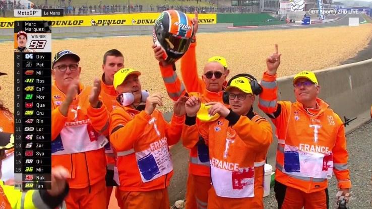 Helm Rins untuk Keluarga Marshal yang Meninggal di Le Mans