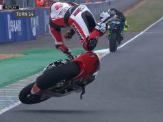 FP3 Moto2 Prancis: Dimas Ekky Kecelakaan Highside